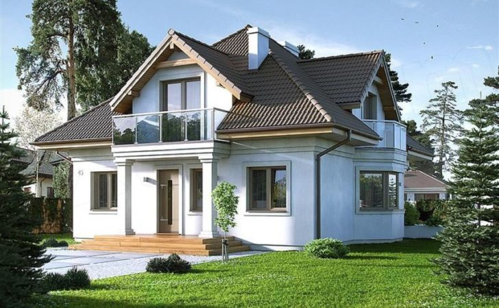 Simple House Design Attic Home Style