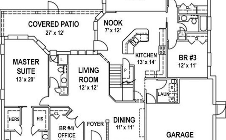 Simple House Plan Also Small Bedroom Floor Plans