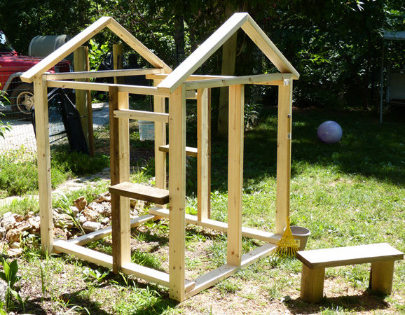 Simple Modern Playhouse Plans Diy Wooden