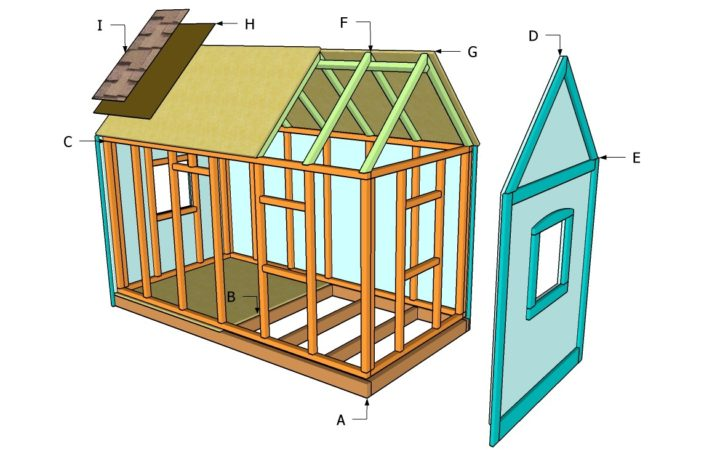 Simple Playhouse Plans Woodworktips