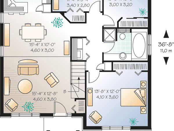 Simple Starter Home Plan Options
