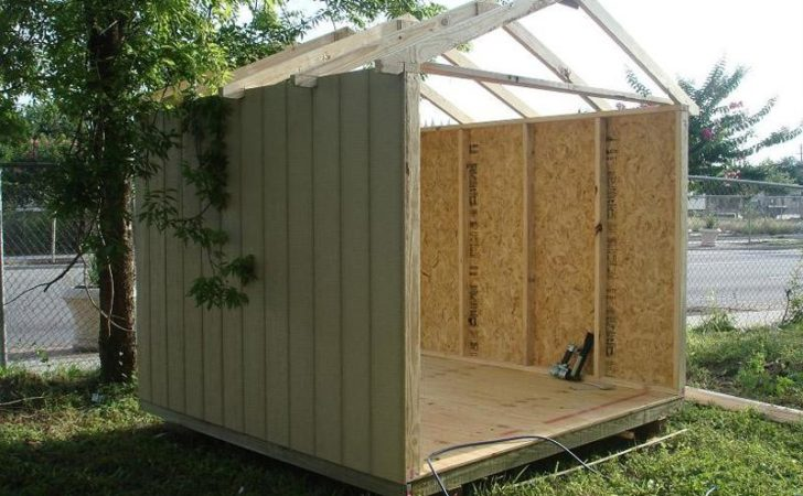 Simple Storage Shed Plans Pdf