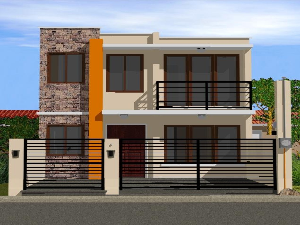 Simple Storey House Design Modern Plan