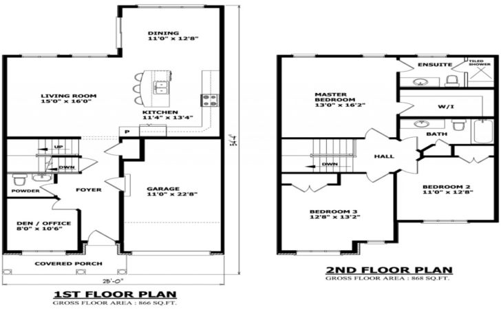 Simple Story Small House Floor Plans Best Finest