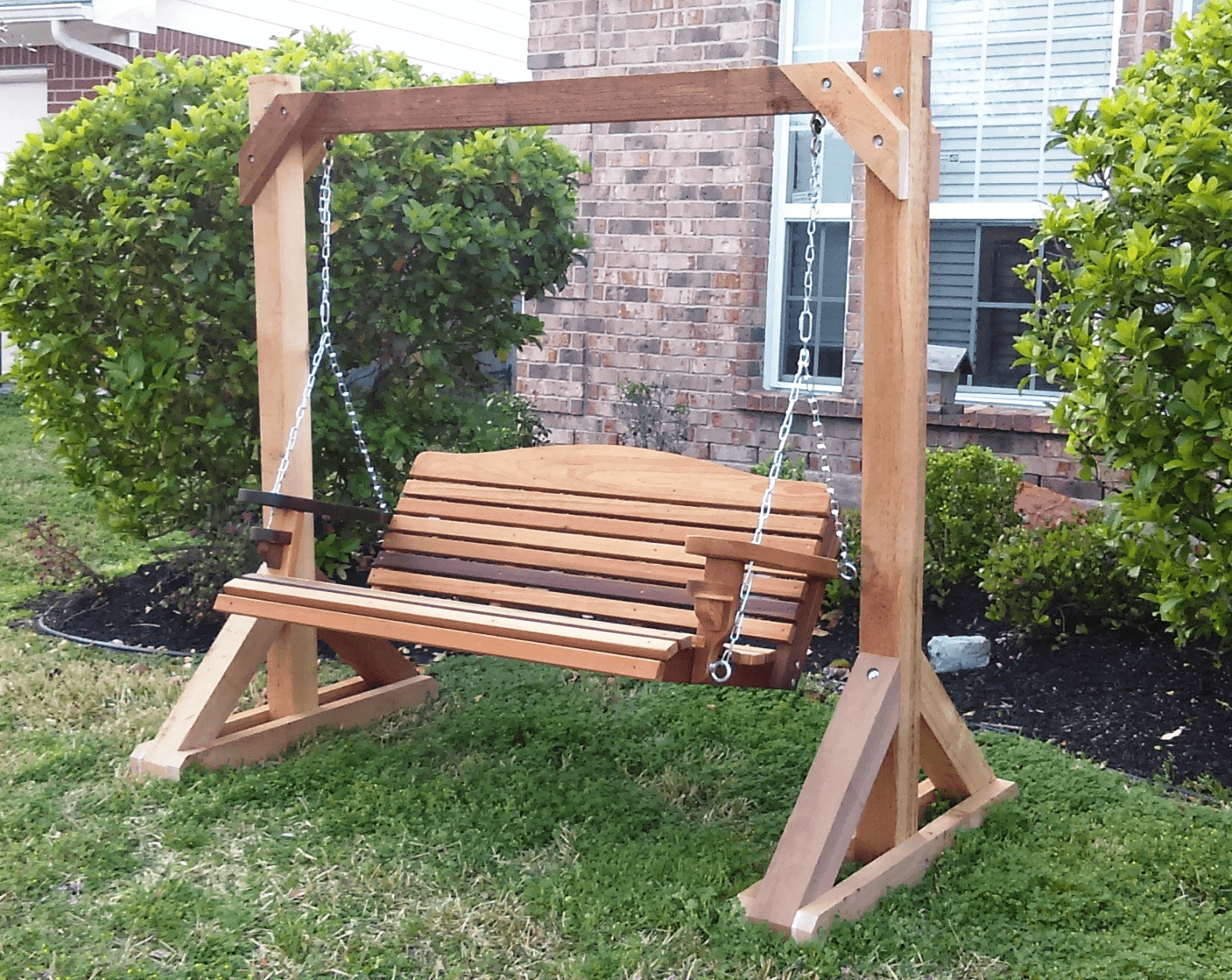 Simple Tips Build Diy Wood Porch Swing Frame Plans