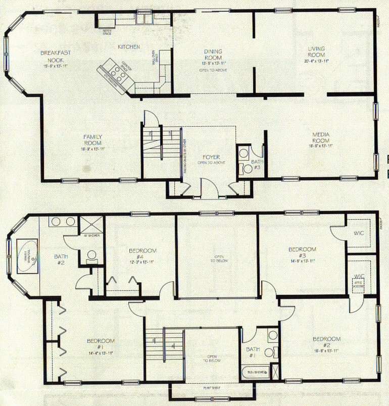 Simple Two Story House Plans Unique
