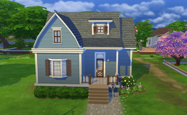Sims Blog Willow Creek Starter Ruth Kay Home Plans