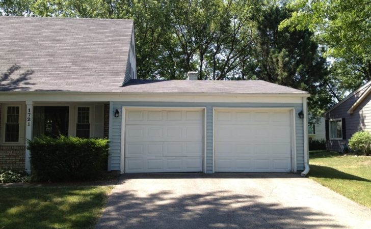 Single Car Garage Doors Converted Into Double Yelp