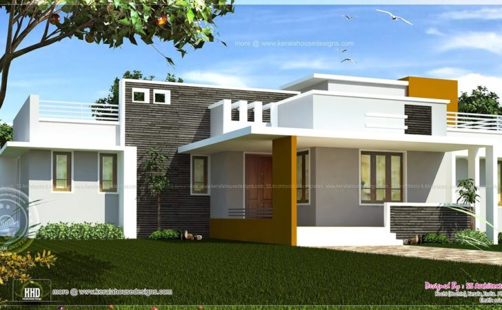 Single Floor House Plans Modern