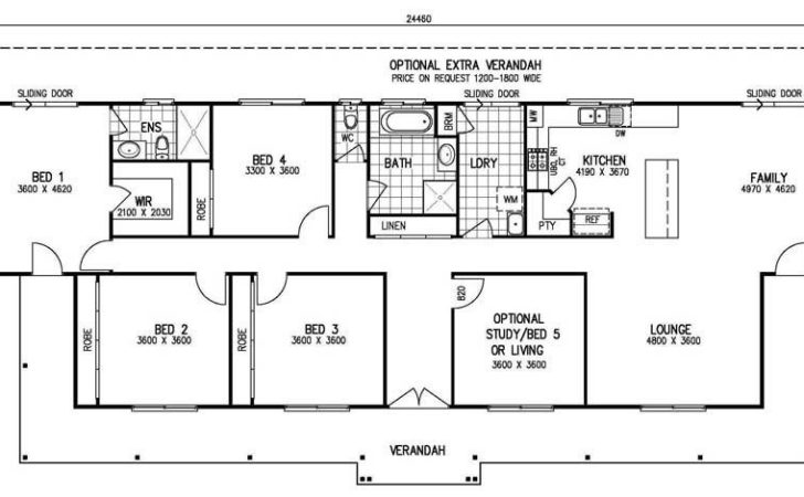 Single Story Bedroom House Plans Awesome