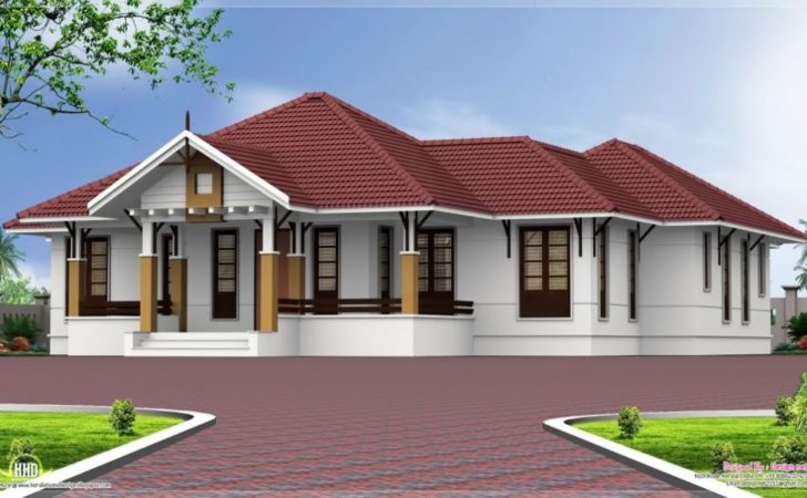 Single Story Bedroom House Plans Houz Buzz