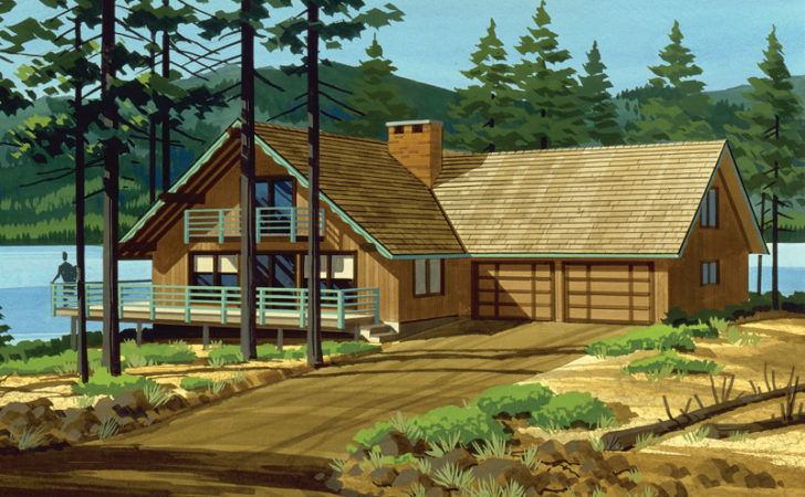 Sioux Trace Chalet Home Plan House Plans More