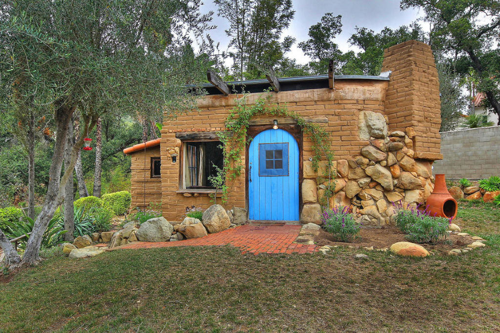 Small Adobe Brick House