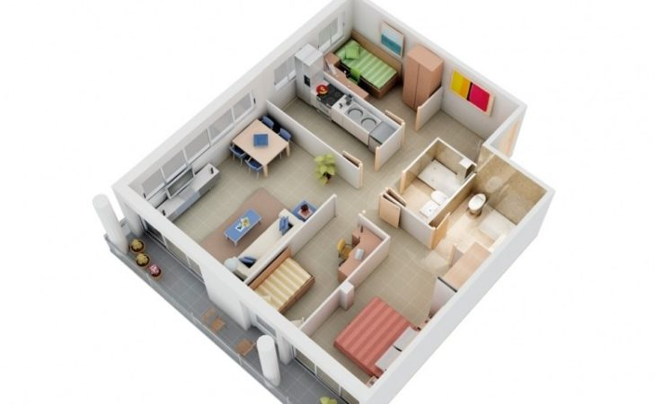 Small Bedroom House Plans Interior Design Ideas