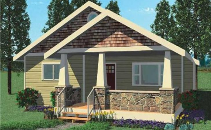 Small Bungalow Modern House Plans Plan