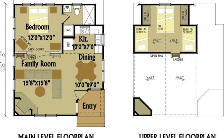 Small Cabin Floor Plans Loft Potting Shed Interior Ideas
