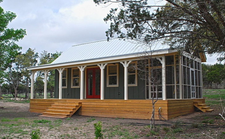 Small Cabin Kits Texas Good Porch Cottage House
