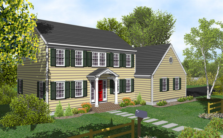 Small Colonial House Plans Unique