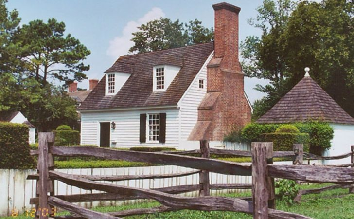 Small Colonial House Plans Williamsburg Style