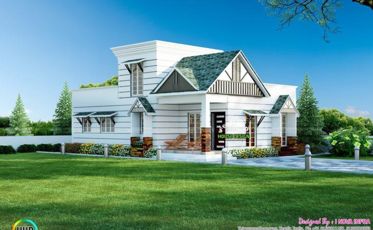 Small Colonial Style House Architecture Kerala Home
