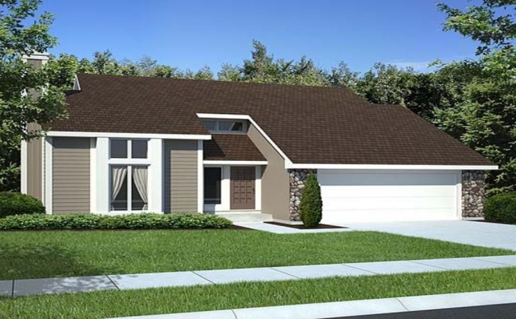 Small Contemporary House Plans Cottage