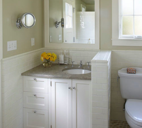 Small Cottage Bathroom Houzz
