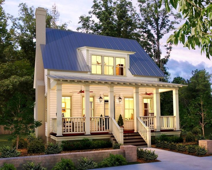 Small Country House Floor Plans Designs