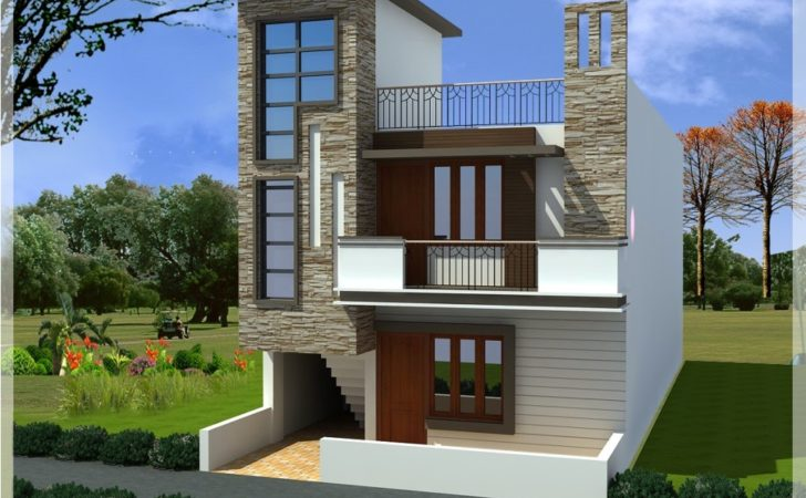 Small Duplex House Elevation Design Best