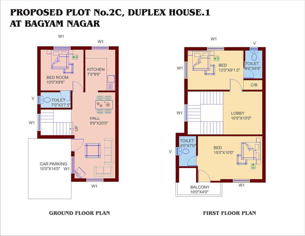 Small Duplex House Plans Smalltowndjs
