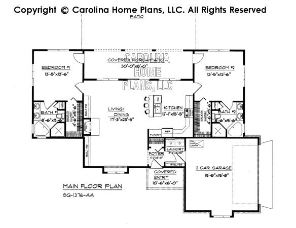 Small Florida Style House Plan Affordable