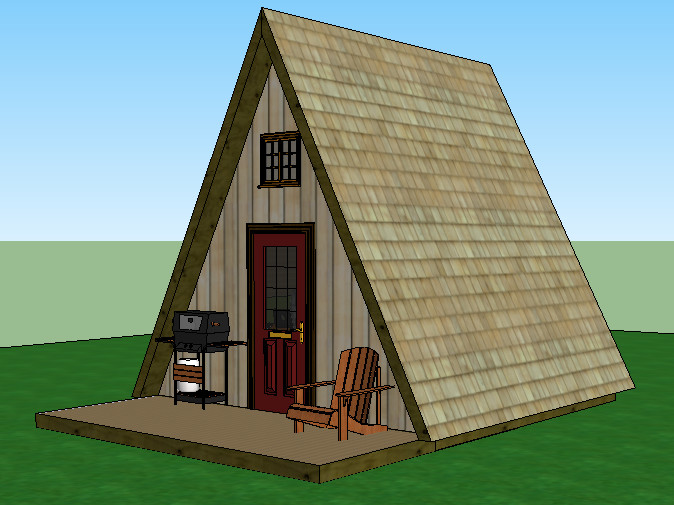Small Frame Cabin Plans Diy