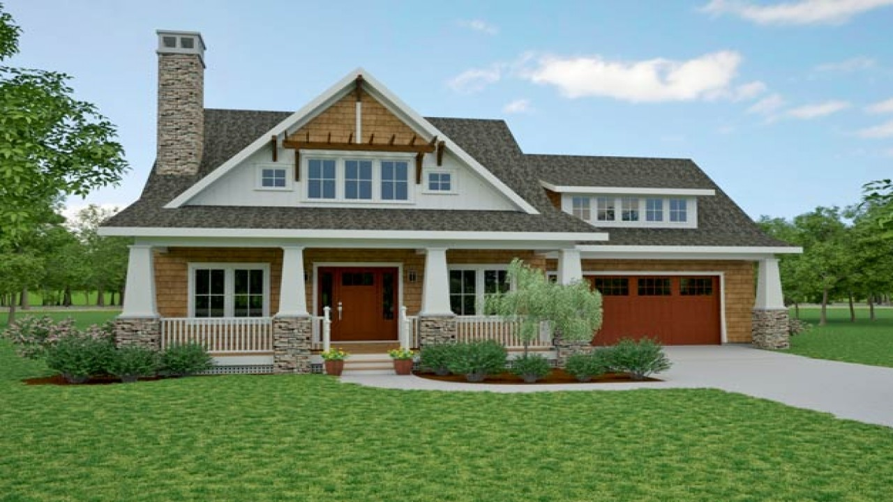 Small Front Porch Plans Bungalow Cottage Home