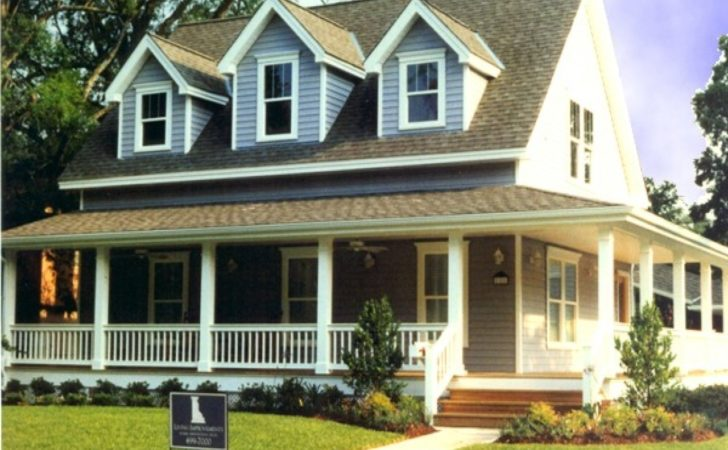 Small Front Porches Houses Wrap Around