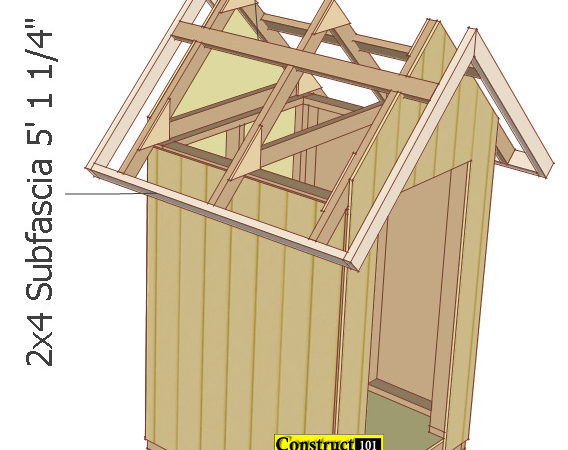 Small Garden Shed Plans Gable Construct