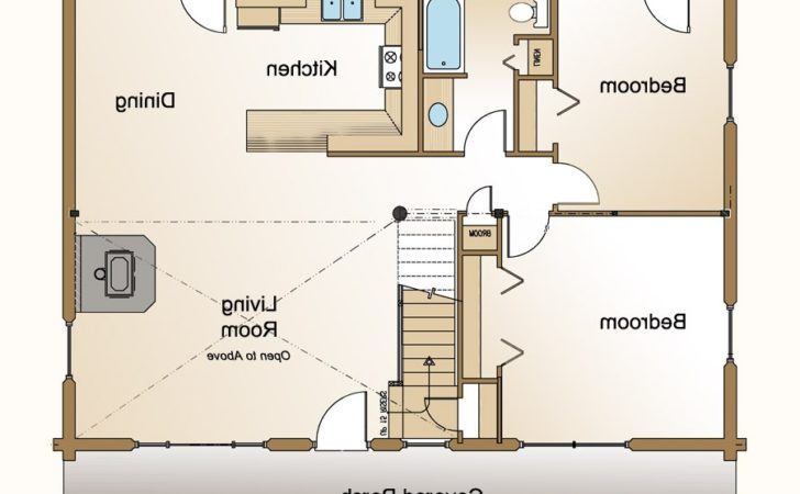 Small Guest House Floor Plans Regarding Home