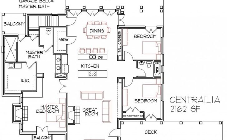 Small Home Open Floor House Plans Concept Homes