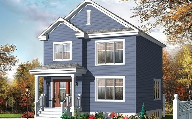 Small Home Plans Two Story House Plan Fits