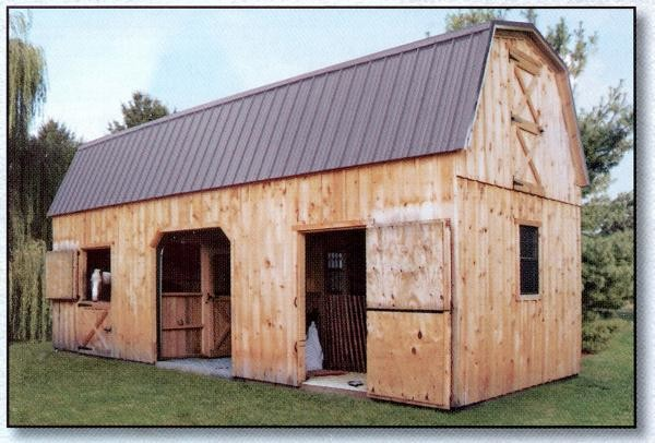 Small Horse Barn Designs Pdf Wooden Garden Sheds