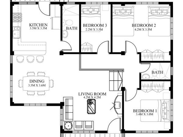 Small House Designs Series Shd Pinoy Eplans