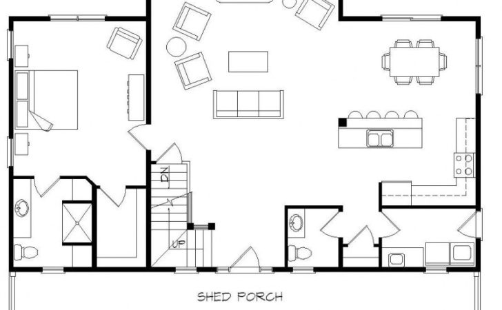 Small House Floor Plans Loft Beautiful