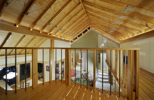 Small House Plan Loft Exploiting Spaces