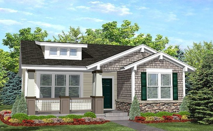 Small House Plans Bungalow Style Cottage