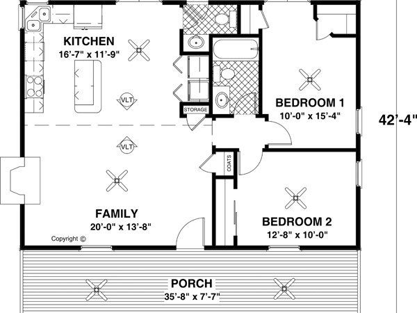 Small House Plans Floor Affordable Home