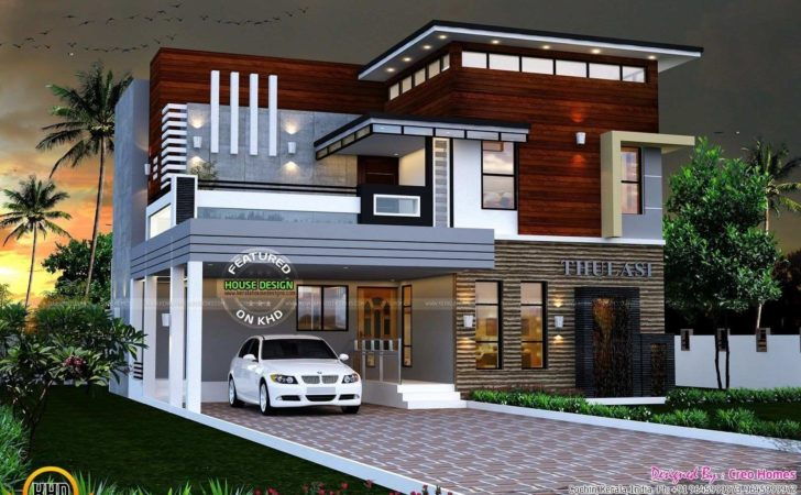 Small House Plans Modern Kerala Luxury Home