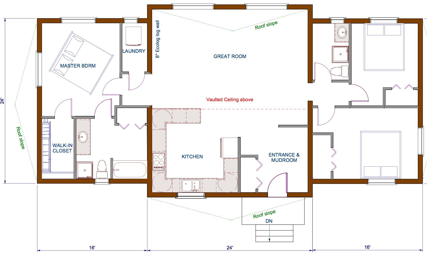 Small House Plans Open Concept