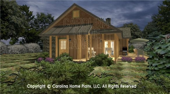 Small House Plans Screened Porch Home Design Style