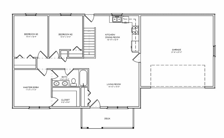 Small House Plans Vacation Bedroom