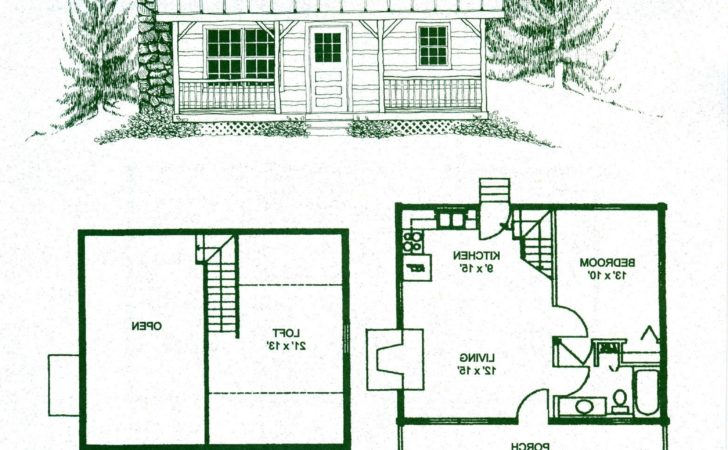 Small Log Cabin Floor Plans Best Ideas