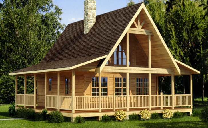 Small Log Cabin Home House Plans Cabins Cottages