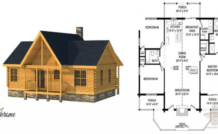 Small Log Cabin Home House Plans Interiors
